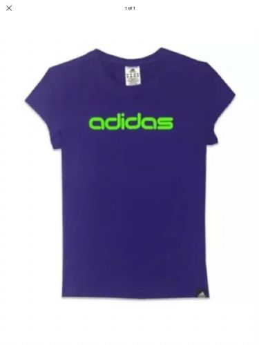 adidas Performance Women's Linear Logo T-Shirt Tee Brand New with Tags Z15520